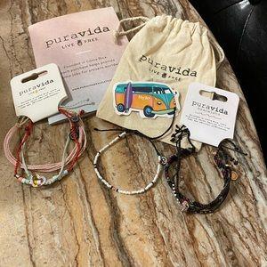 Brand New Pura Vida Bracelets